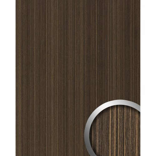 WallFace 19027 WENGE WOOD adhesive wall panel wood look dark brown 2.6 sqm