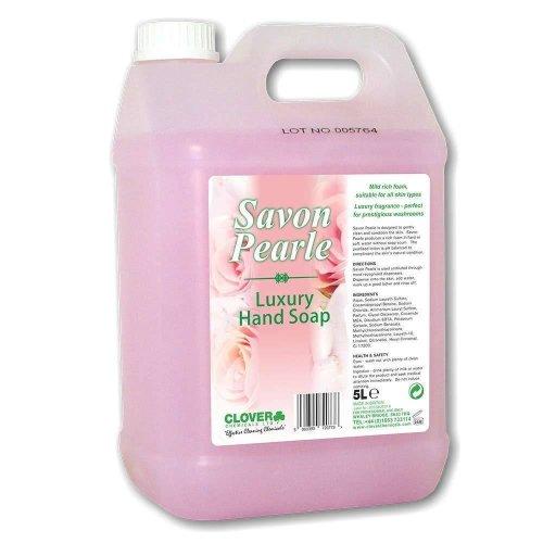 Clover Savon Pearle 5Ltr Luxury Hand Wash