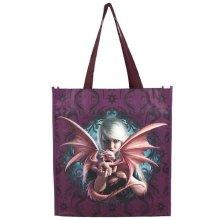 Anne Stokes Dragon Kin Shopping Bag Medium Gothic Pagan Reusable Tote 39cm