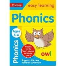 Collins Easy Learning Ks1: Phonics Ages 5-6