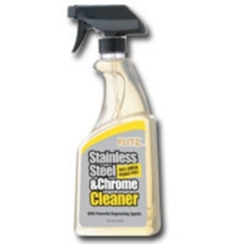 Flitz FTZSP01506 Stainless Steel and Chrome Cleaner with Degreasing Agents