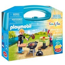 """PLAYMOBIL Carrying Case Small """"Barbeque"""""""