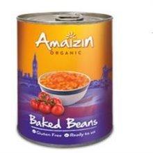 Amaizin Org G/f Baked Beans 400g