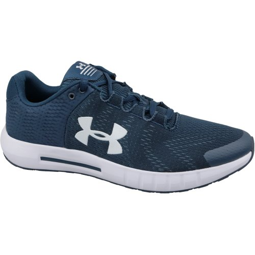 Under Armour Micro G Pursuit BP 3021953-401 Mens Navy Blue running shoes