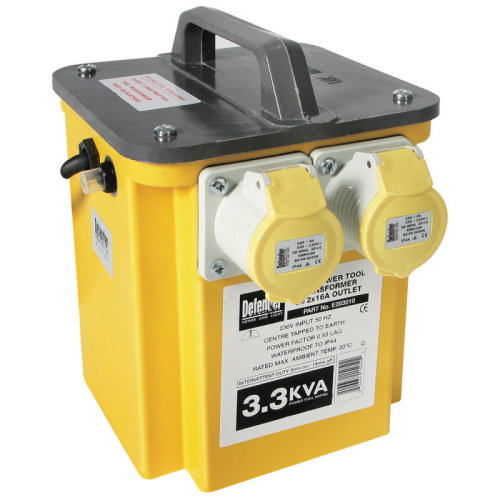 Defender 3.3Kva Power Tool Transformer E203012