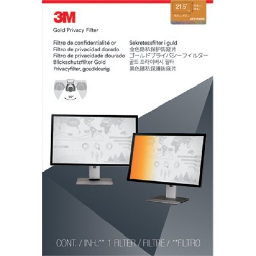 "3M 21.5"" Widescreen Gold Privacy Filter"