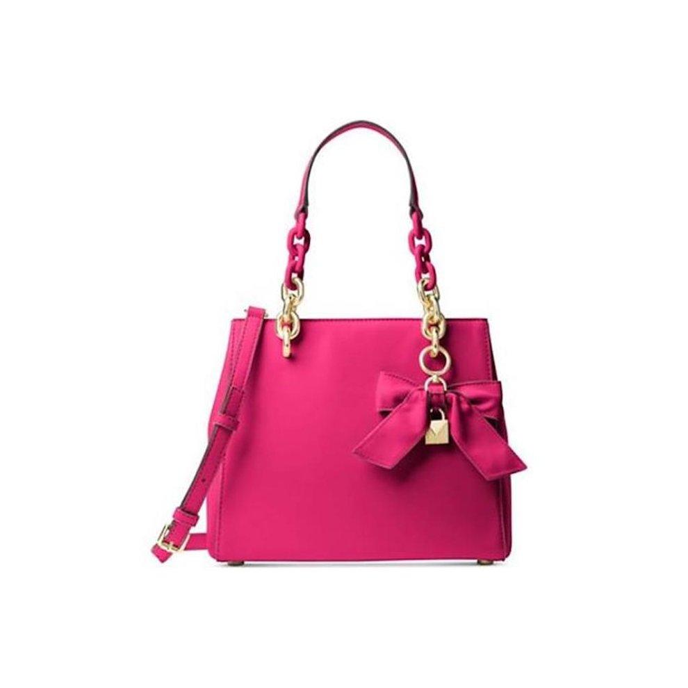 7bd55982ba1a Michael Kors 30H7GCYS5L-564 Cynthia Saffiano Leather Small Convertible Satchel  Bag