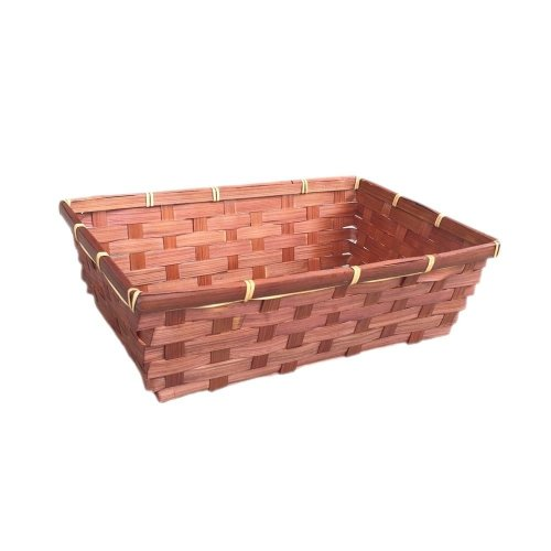 Small Brown Bamboo Packing Tray
