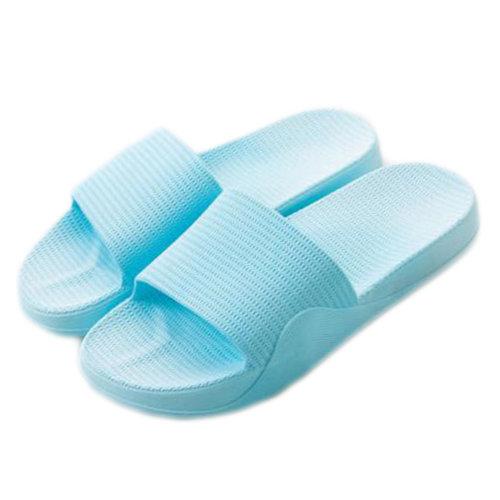 Womens Cozy Indoor Bathroom Non-slip Slippers House Slipper, Blue