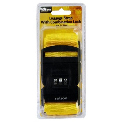 Combination Luggage Strap - Rolson Travel 66496 Adjustable Suitcase Straps -  combination luggage rolson strap travel 66496 adjustable suitcase