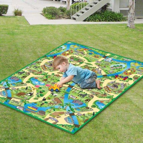 Eduk8 Worldwide | Zoo Play Mat (120 x 100cm)