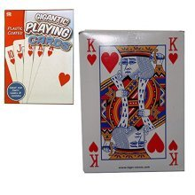 A To Z Games Gigantic Playing Cards Deck