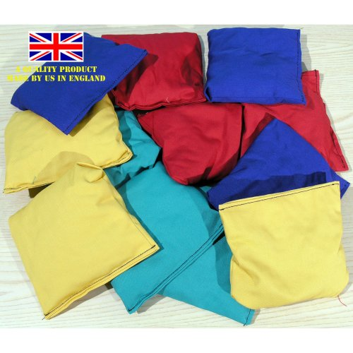 Set of twelve play bean bags 03410