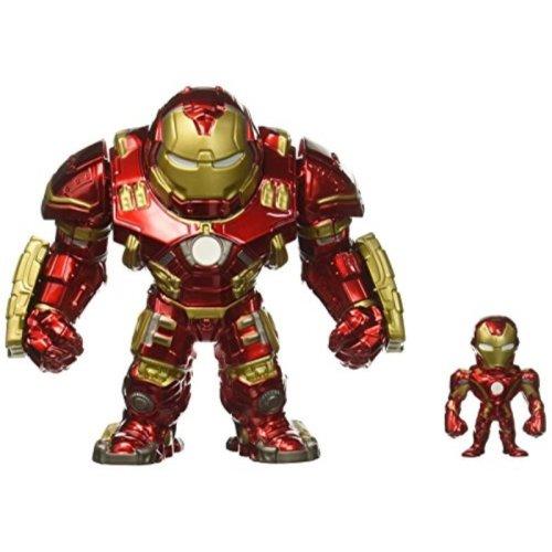 "Jada Toys Metals Marvel 6"" Classic Figure - Hulkbuster & 2"" Ironman (M132) Toy Figure"