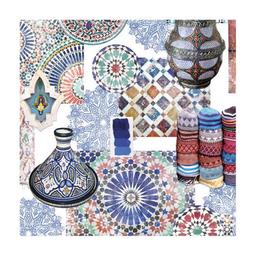 Ambiente 3 Ply Paper Lunch Napkins, Medina