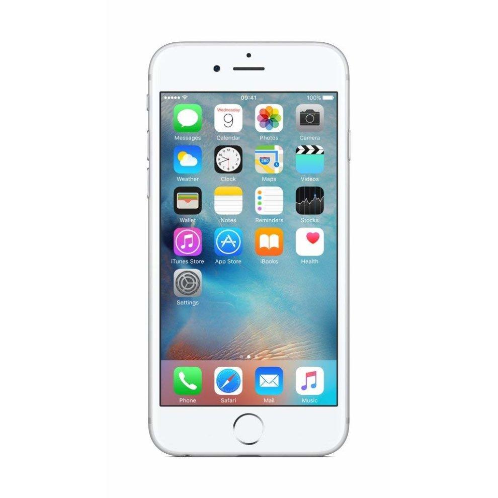 Orange, 64GB Apple iPhone 6s - Silver