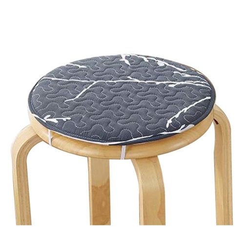 [H] Soft Round Stool Cover Bar Stool Seat Pad