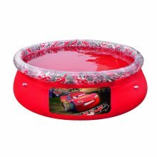 Disney Cars Fast Set Pool - Bestway Above Ground Red Large Fun 78 X20 Swimming -  bestway disney cars fast set pool above ground red large fun 78 x20