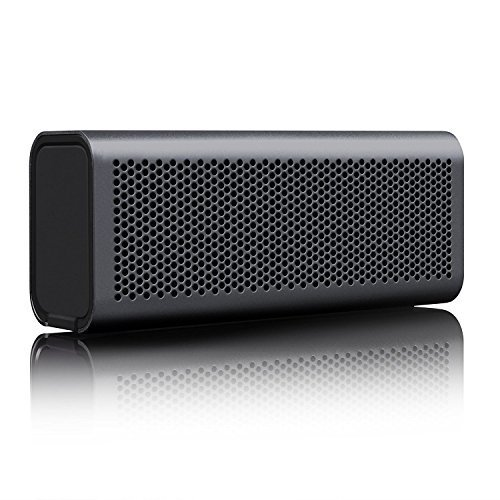 BRAVEN 710 Portable Wireless Bluetooth Speaker 12 Hours Water Resistant Built In 1400 mAh Power Bank Charger Graphite