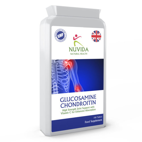 Glucosamine Chondrotin Complex with Vitamin C / 180 Tablets