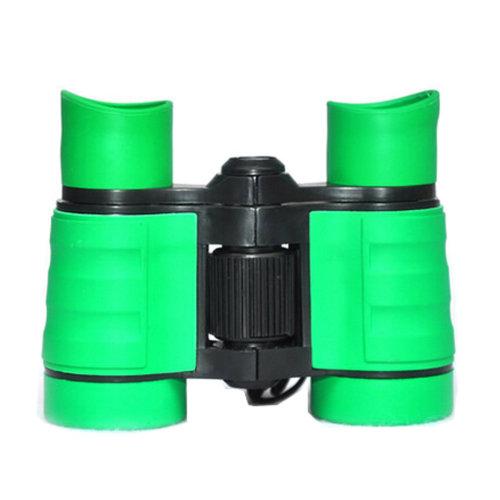 Binocular Telescope 8x40 Miniature Toy  Telescope Suit To Kids Green