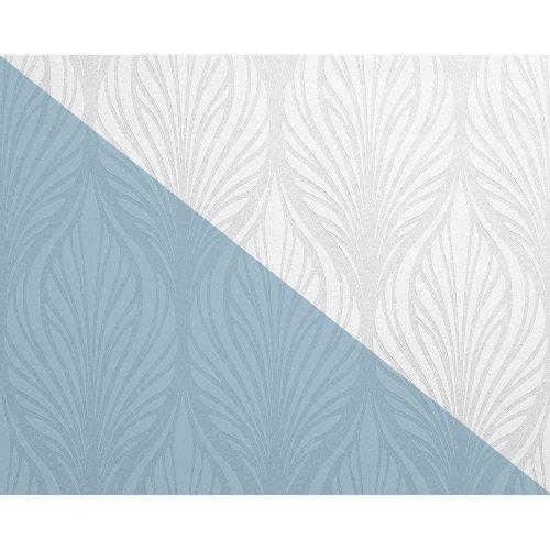 EDEM 83003BR60 Baroque paintable non-woven wallcovering wall matt white 26.50 m2