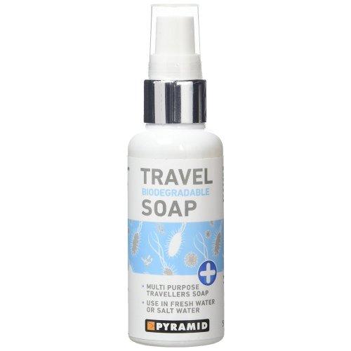 Pyramid Multi Purpose Biodegradable Travel Soap - 60ml