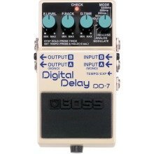 Boss DD-7 Digital Delay Guitar Compact Effects Pedal