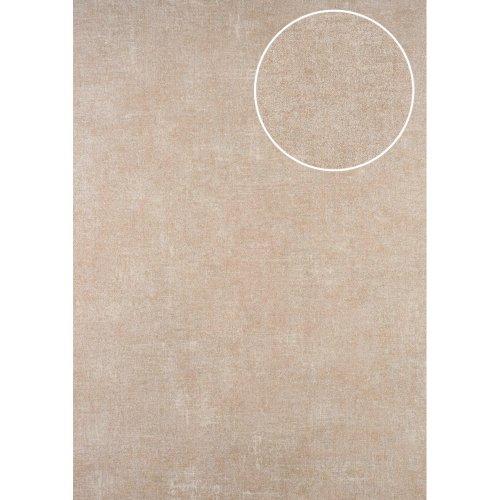 ATLAS CLA-601-5 Unicolour wallpaper matt beige beige grey 5.33 sqm
