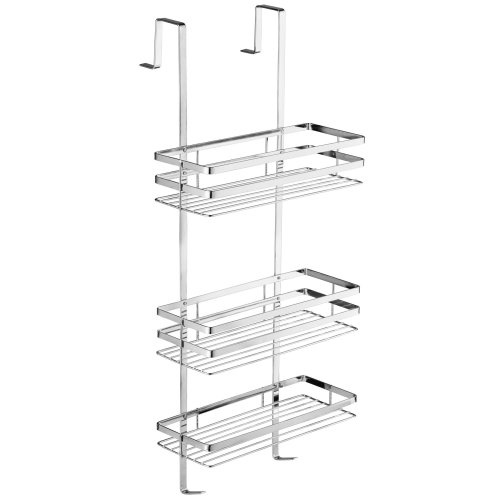 Shower caddy AISI 304 stainless steel - silver