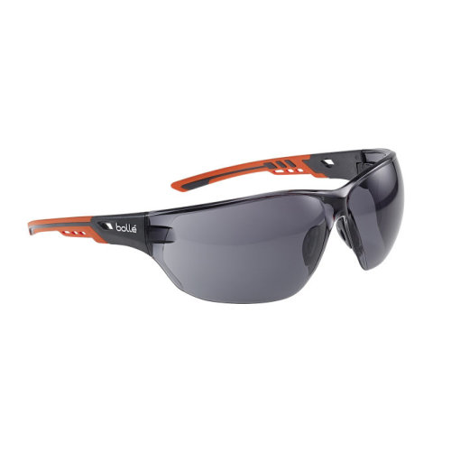 Bolle NESS+ NESSPPSF Safety Glasses Smoke Lens
