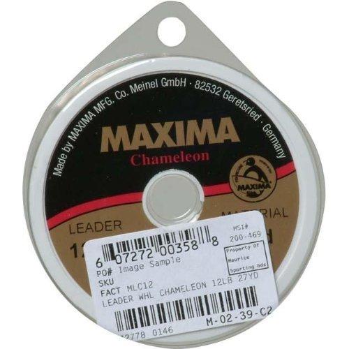 Maxima Fishing Line Leader Wheel, Chameleon, 15-Pound/27-Yard