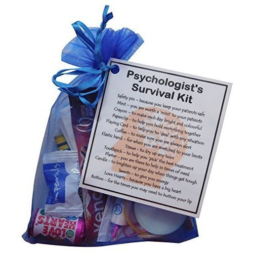 Psychologist's Survival Kit - Great gift for a Psychologist, Psychologist gift, gift for Psychologist, Psychologist present, present for Psychologist,