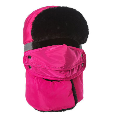 Reflective Thickening Full-protection Mask Face Neck Hat
