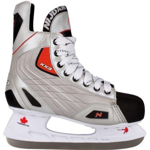 Nijdam Ice Hockey Skates Size 43 Polyester 3385-ZZR-43