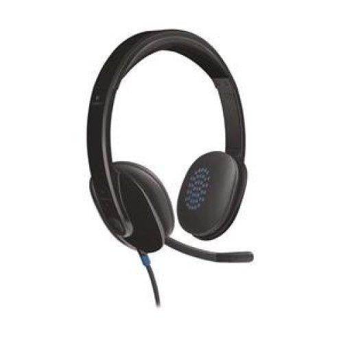 a0efc56524e Logitech H540 Binaural Head-band Black headset on OnBuy