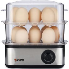 Professional Electric 16 Egg Boiler Hard Soft Poached Cooker Omelette Maker Cook