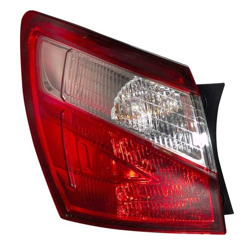 Nissan Qashqai 4/2010-> Rear Tail Light Passenger Side N/s