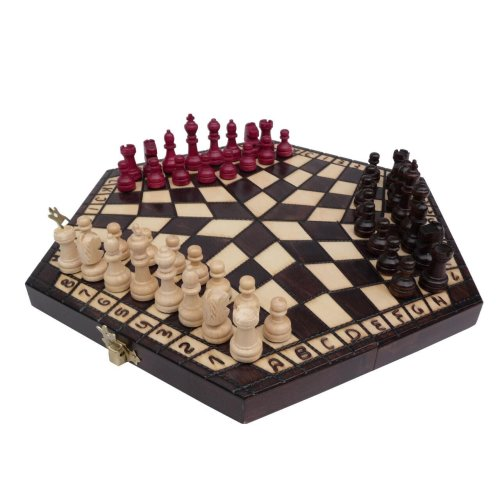 ChessEbook 3 PLAYER CHESS set 32 x 28 cm