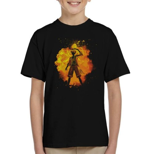 One Piece Soul Of The Pirate Kid's T-Shirt
