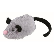 Trixie - Active-mouse, 8cm Cat & Kitten Playtoy - Batteries Activemouse -  trixie batteries activemouse including 8 cm new cat automatic play toy