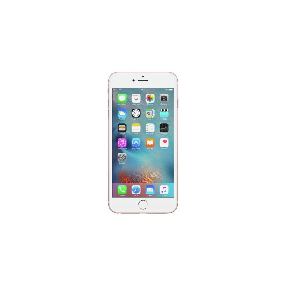 Tesco Mobile, 64GB Apple iPhone 6s Plus - Rose Gold