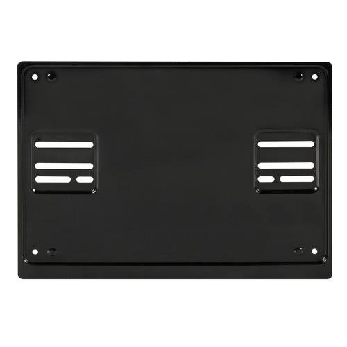 Square 4x4 Black Steel Rear Number Plate Surround Holder Off Road