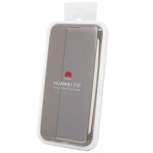 Genuine Official Huawei P30 Smart View Flip Cover Case - Khaki (51992864)
