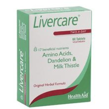 Healthaid Livercare(red -uk) Blister - 60 Tablets