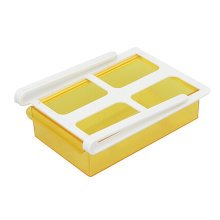 Refrigerator Drawer Style Storage Eggs Boxes Small Things Organizer Yellow