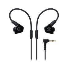 Audio-Technica ATH-LS50iS In-Ear Headphones for Smartphones - Black