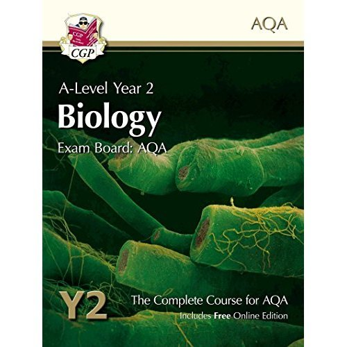 New A-Level Biology for AQA: Year 2 Student Book with Online Edition