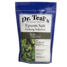 Dr Epsom Salt Soaking Solution Relax Eucalyptus Spearmint 48 OZ (Pack of 8)