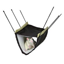 Trixie Hammock With Two Storeys For Ferrets/rats, 22 x 15 x 30cm - 2 30cm Rat -  hammock trixie 2 30 cm rat two storey bed hanging cage storeys